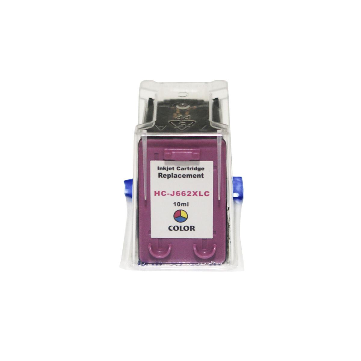 Cartucho de Tinta Compatível com HP 662XL Color CZ106AL | 1516 3516 2546 2516 2646 3546 4646 | 10ml