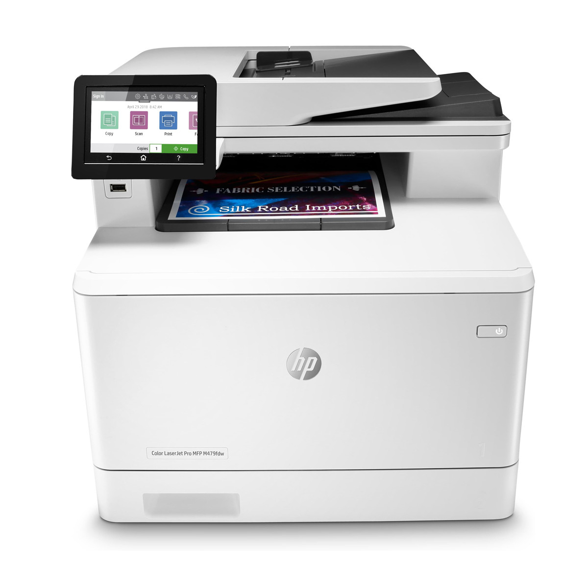 Impressora HP LaserJet M479FDW W1A80A   Multifuncional com Wireless
