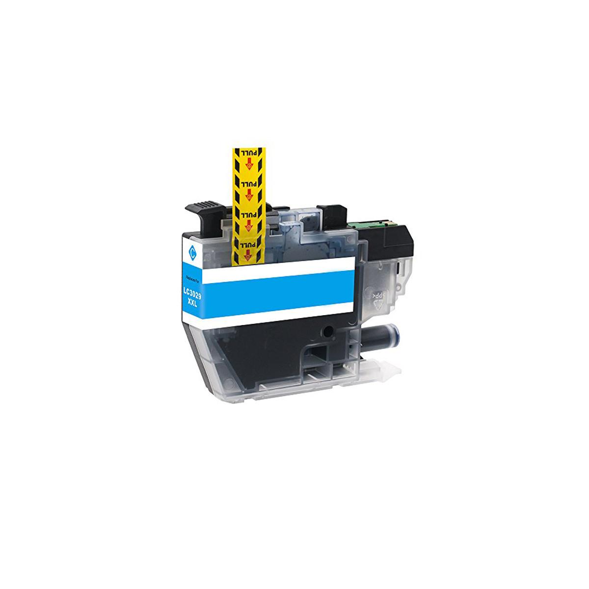 Cartucho de Tinta Compatível com Brother LC3029C Ciano | J6935 J6535 J5930 J5830 | Compatível 13ml