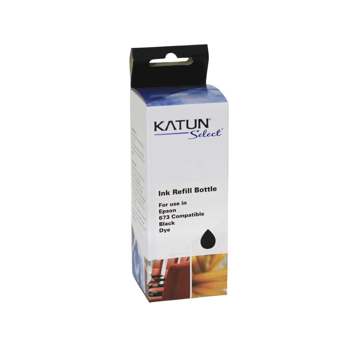 Tinta Compatível com Epson T673 T673120 Preto | L1800 L800 L805 L810 L850 | Katun Select 100ml