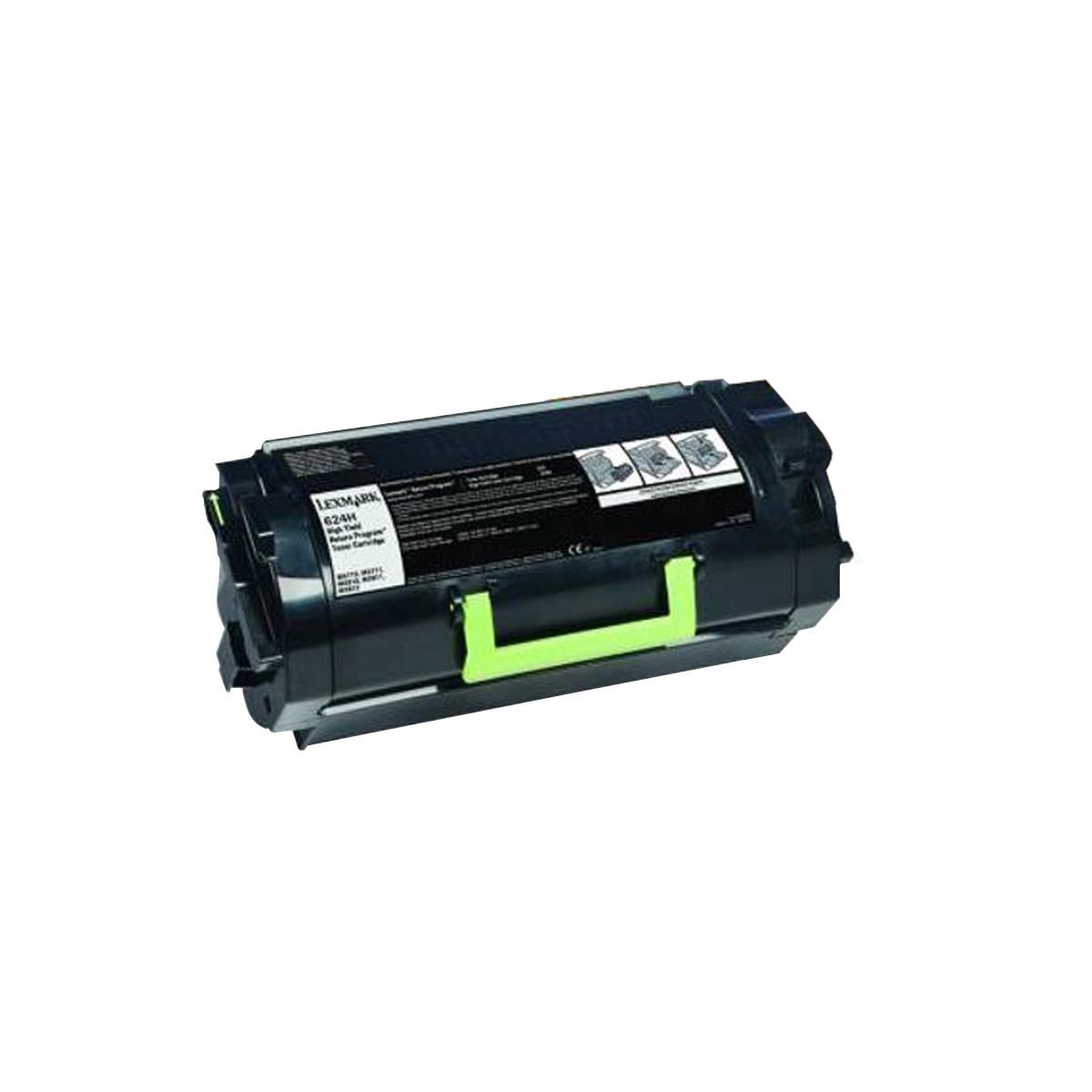 Toner Compatível com Lexmark 624H 62DBH00 | MX710 MX711 MX810 MX811 MX812 | Katun Select 25k