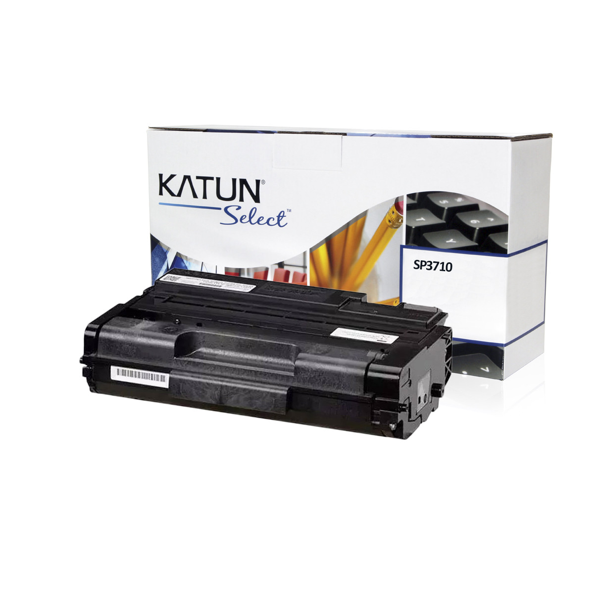 Toner Compatível com Ricoh SP3710 SP3710SF SP3710DN 40828 | Katun Select 7k