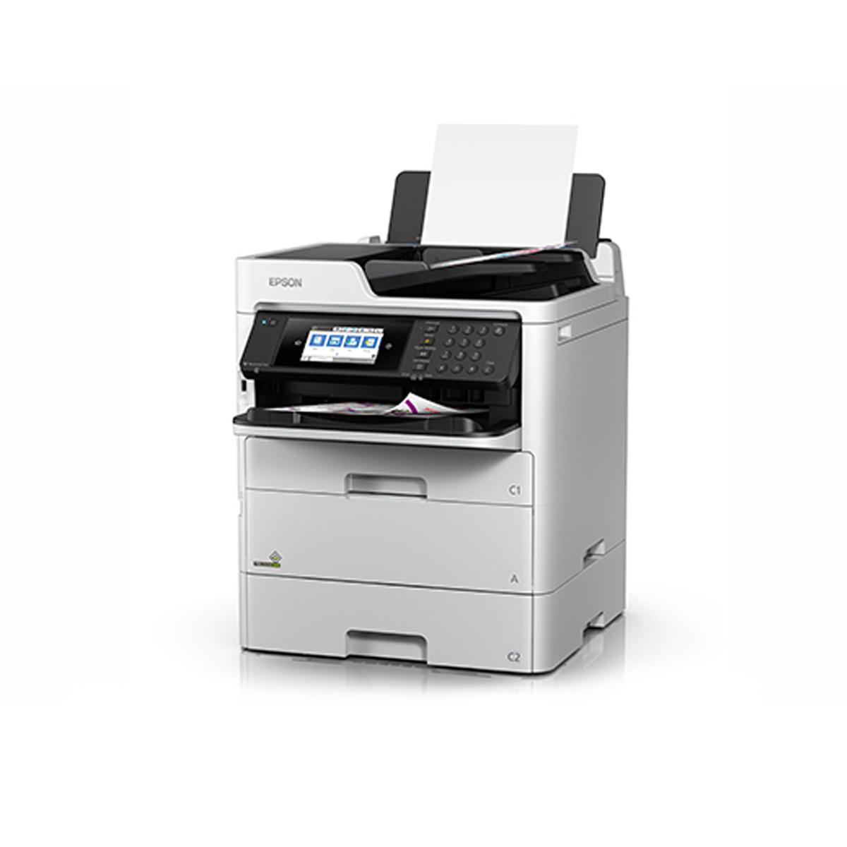Impressora Epson WorkForce Pro WF-C579R | Multifuncional com Bolsa de Tinta Colorida Wireless