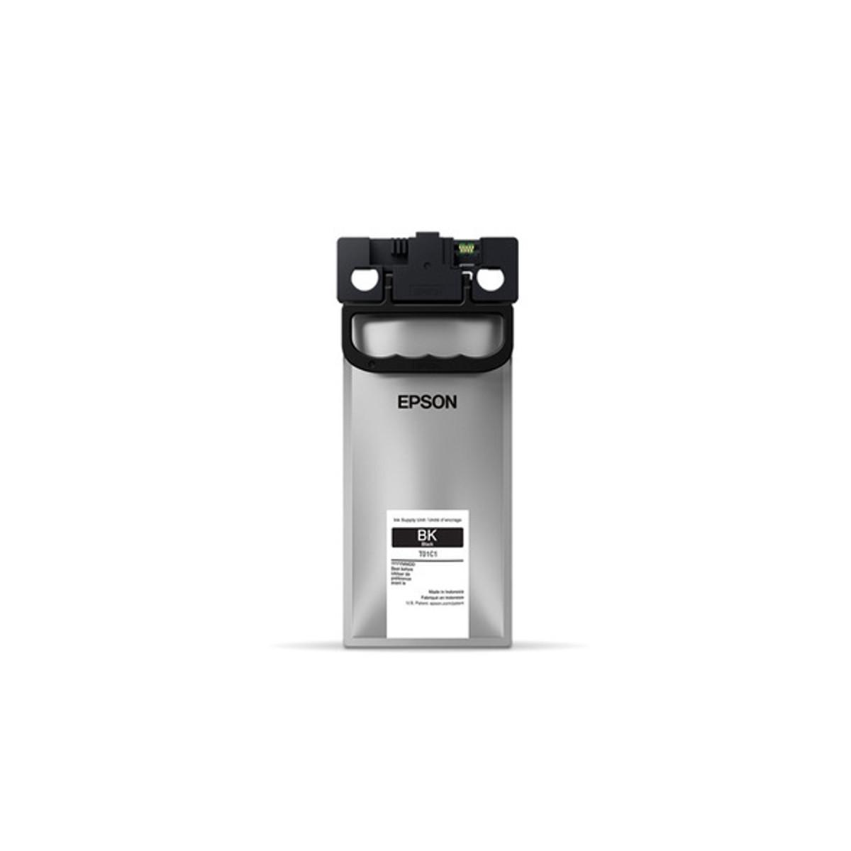 Tinta Epson T01C120 T01C Preto | Workforce WF-C579R | Original