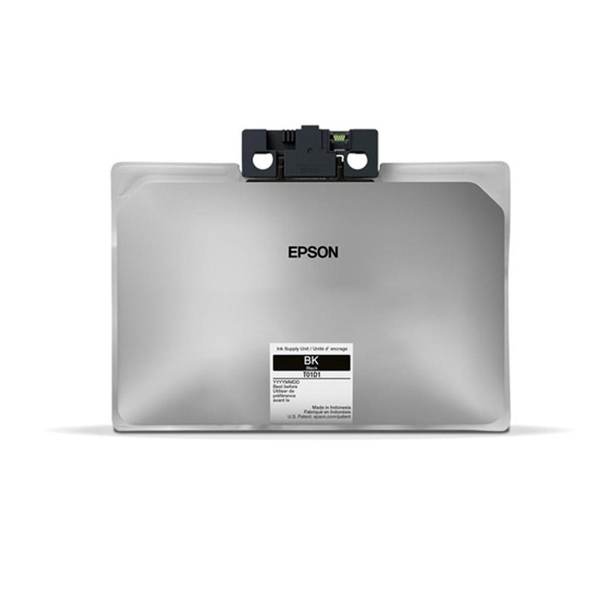 Tinta Epson T01D120 T01D Preto   Workforce WF-C579R   Original