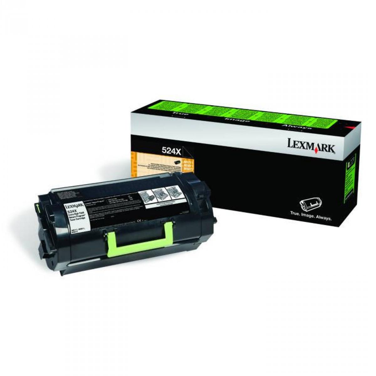 Toner Lexmark 52DBX00 524X | MS811dn MS812dn MS812de | Original 45k