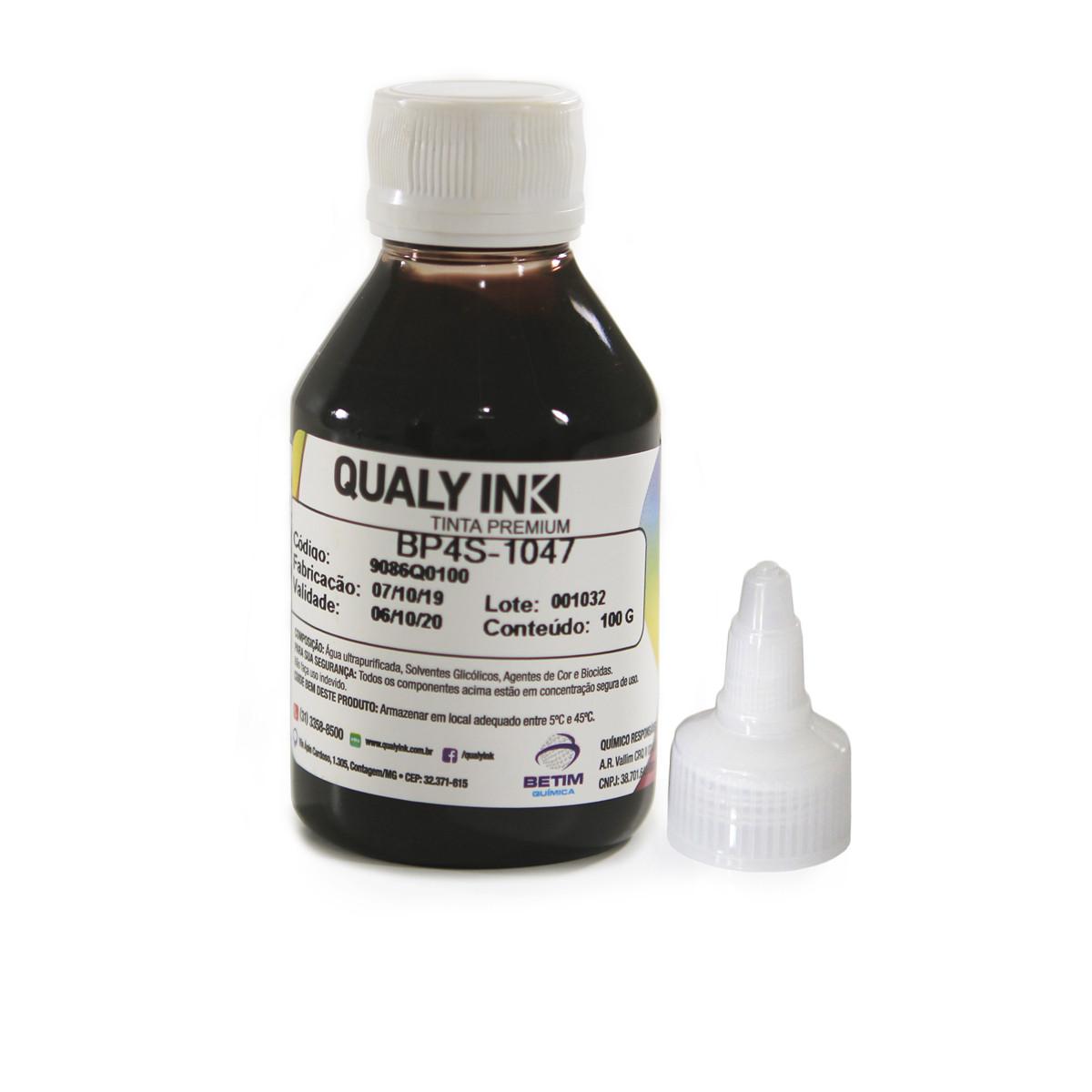 Tinta Epson Sublimática Preta BP4S-1047 Pigmentada Universal | Com bico Aplicador | Qualy Ink 100g