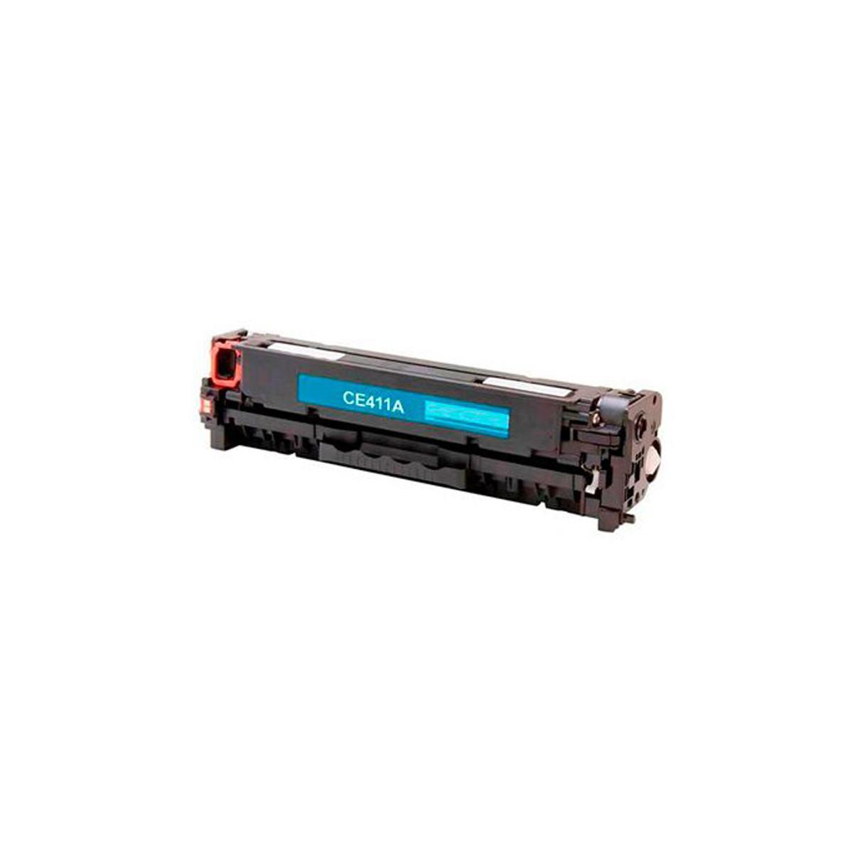 Toner Compatível com HP CE411A 305A Ciano   M451 M475 M375 M451DW M451NW M475DW   Eagle 2.6k