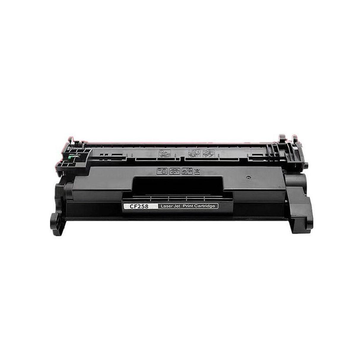 Toner Compatível com HP CF258A 58A   M428FDW M404DW M428DW M404N   SEM CHIP   Importado 3k