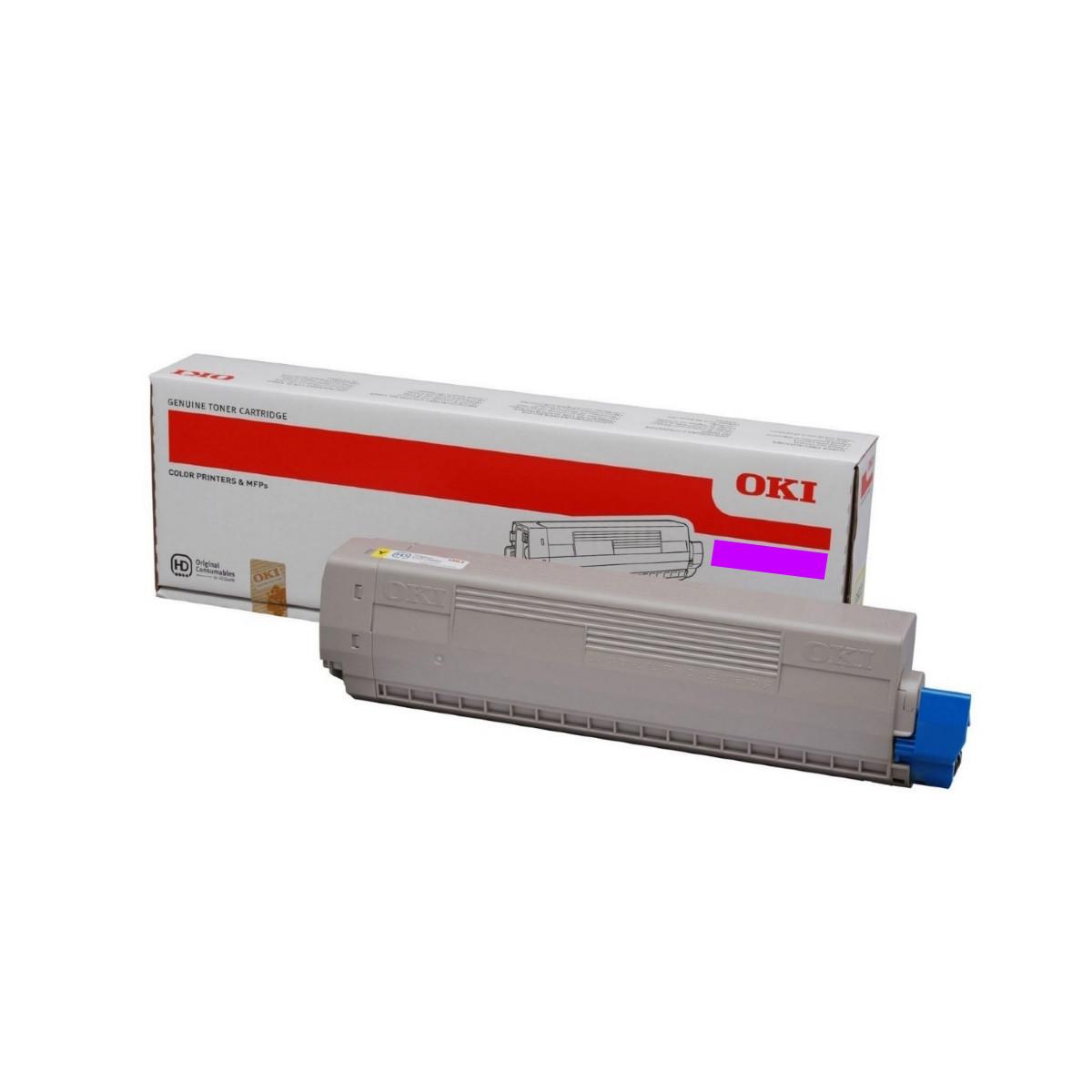Toner Okidata Magenta | ES8473 | 45862825 | Original 10k