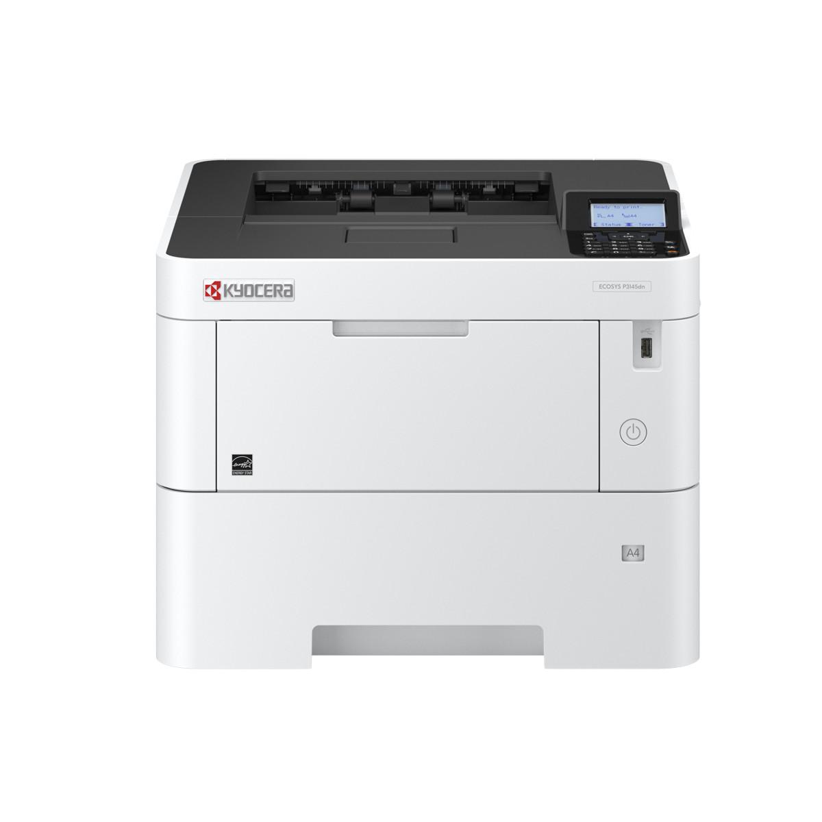 Impressora Kyocera Ecosys P3145DN | Laser Monocromática com USB
