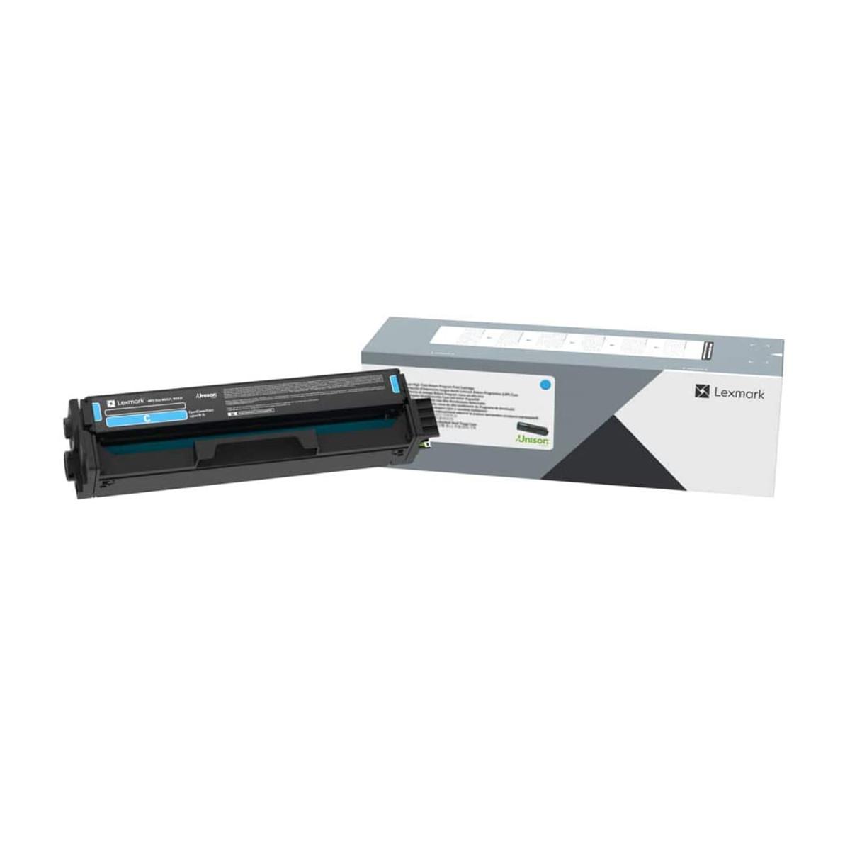 Toner Lexmark C320020 C3200 C3240C0 Ciano | MC3224ADWE MC3224 C3224DW C3224 | Original 1.5k