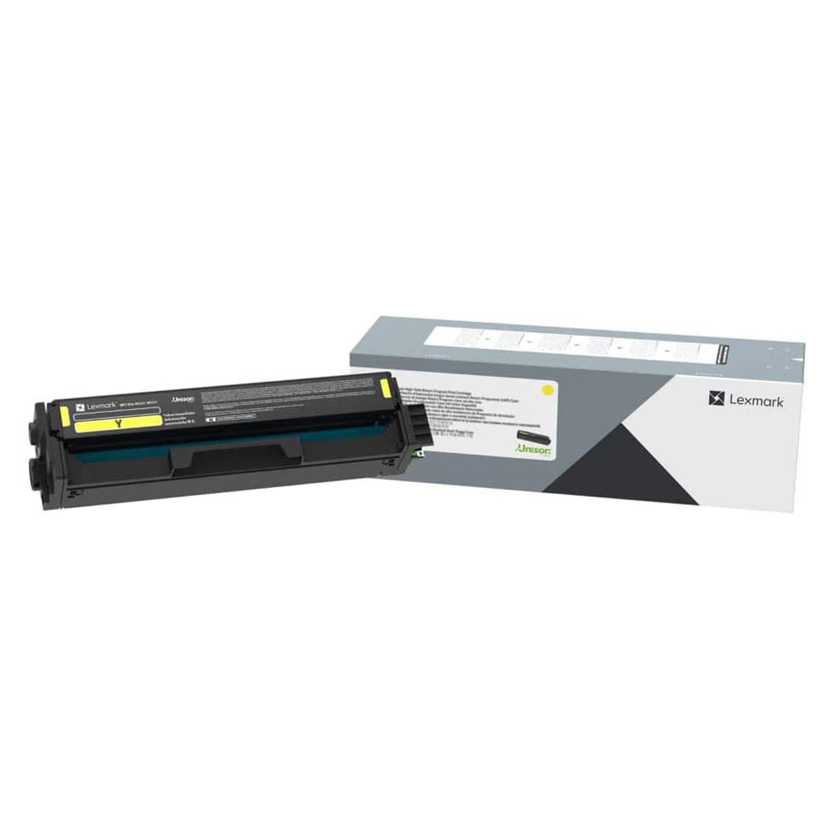 Toner Lexmark C320040 C3200 C3240Y0 Amarelo   MC3224ADWE MC3224 C3224DW C3224   Original 1.5k