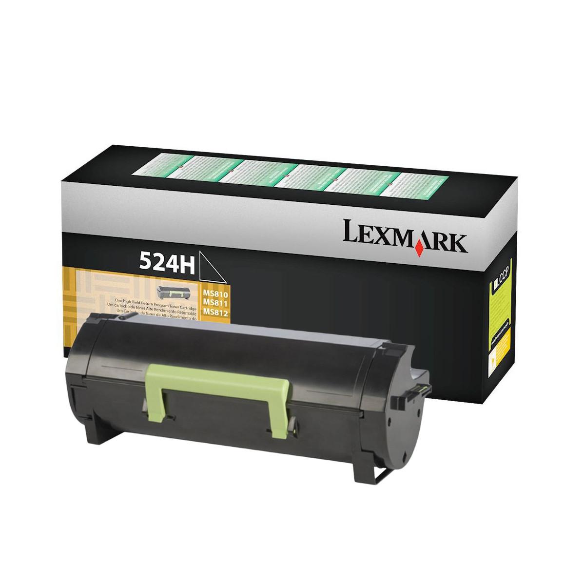 Toner Lexmark 52DBH00 524H | MS811dn MS812dn MS812de MS810dn MS810de | Original 25k