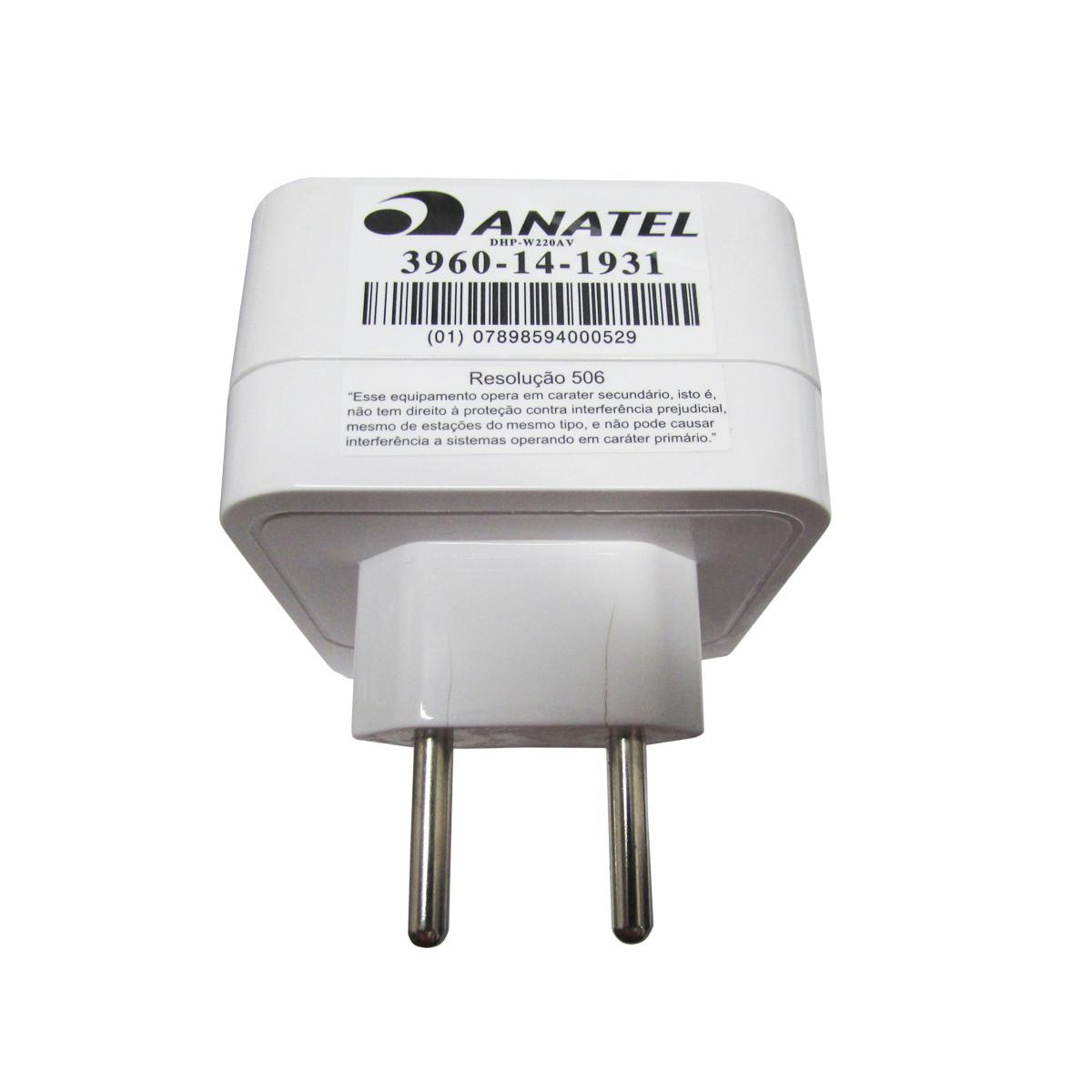 Repetidor de Wireless D-Link Powerline Kit DHP-W221AV - CAIXA ABERTA