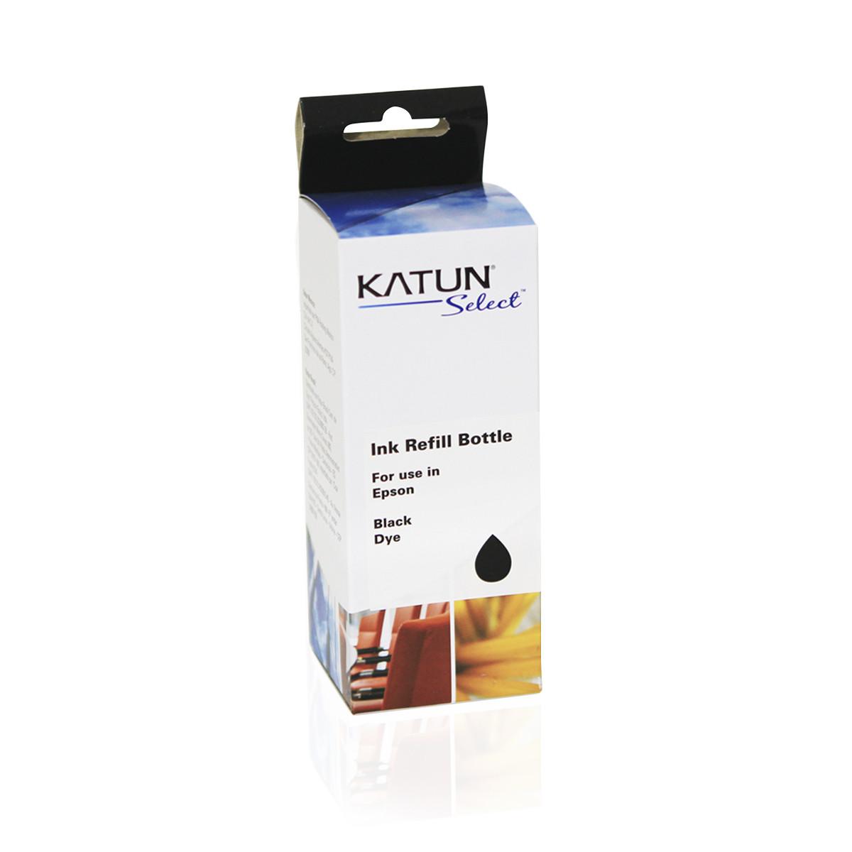 Tinta Compatível com Epson T504 T504120 Preto   L4150 L4160 L6171 L6191 L6161   Katun Select 127ml