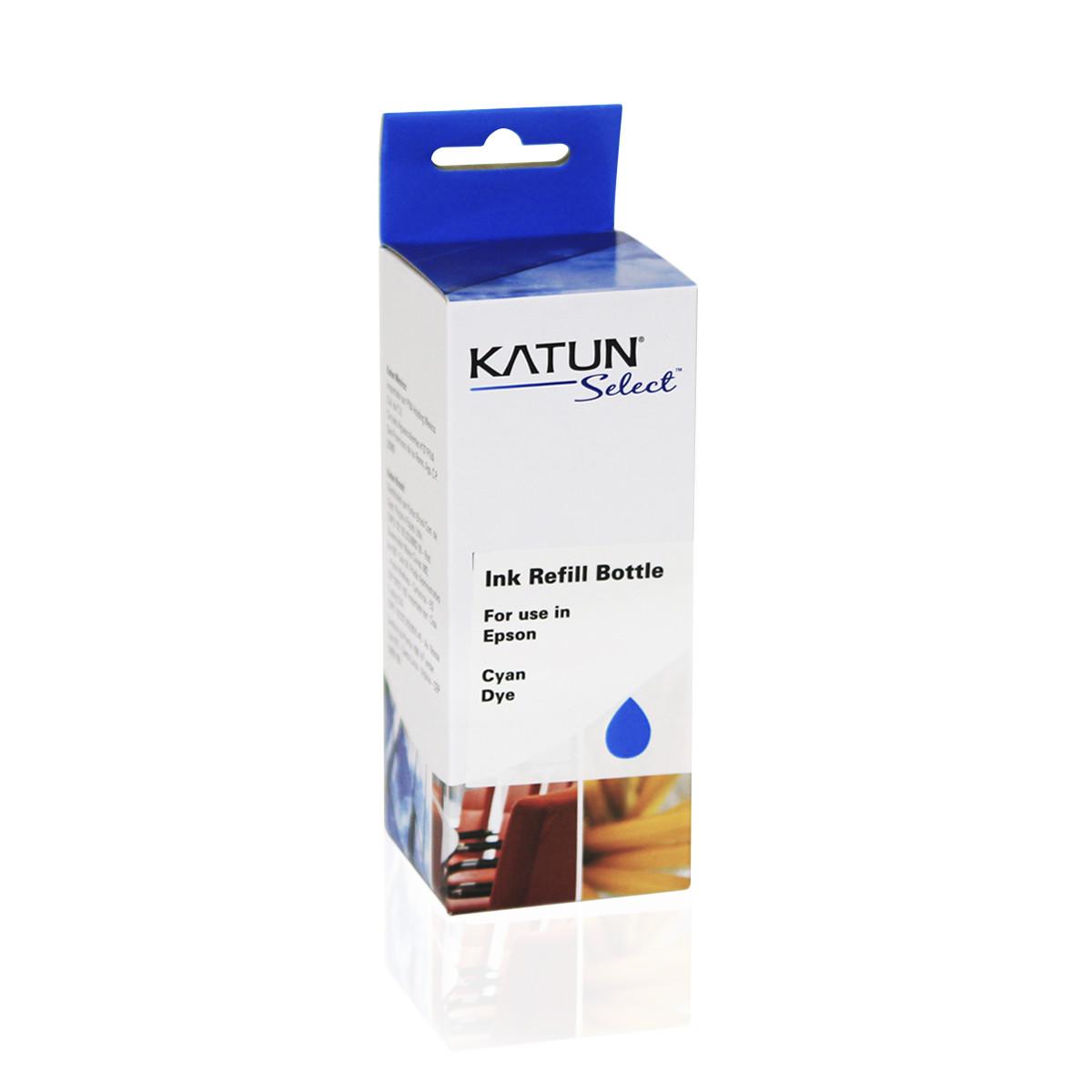 Tinta Compatível com Epson T504 T504220 Ciano | L4150 L4160 L6171 L6191 L6161 | Katun Select 70ml