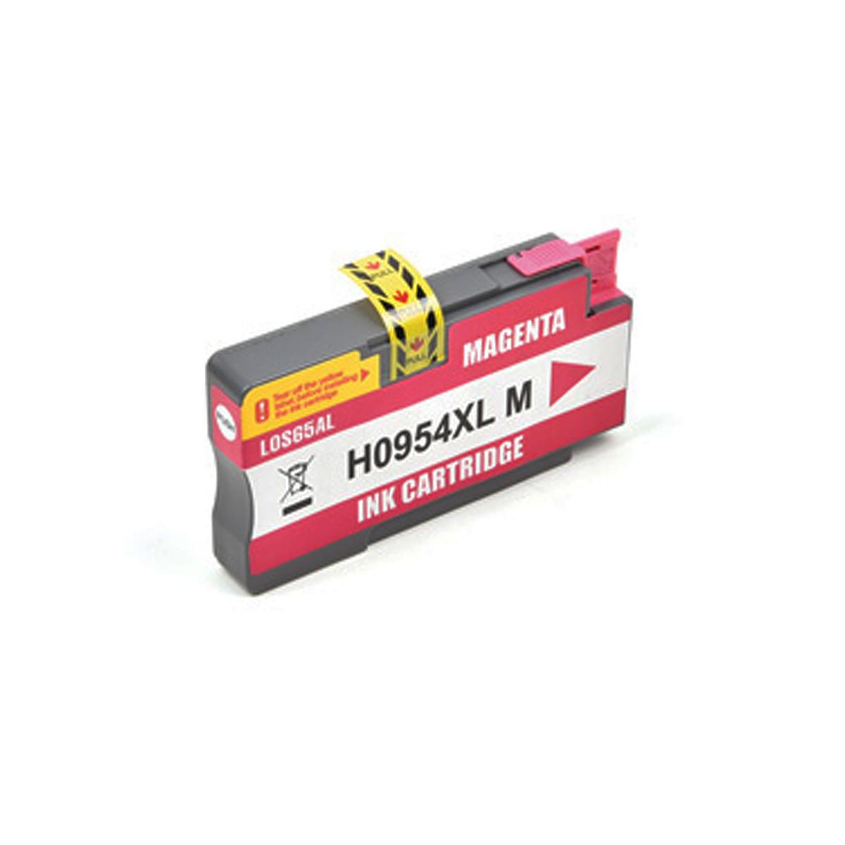 Cartucho de Tinta Compatível com HP 954XL L0S65AL Magenta | 8710 8720 8210 7720 | Katun Business Ink