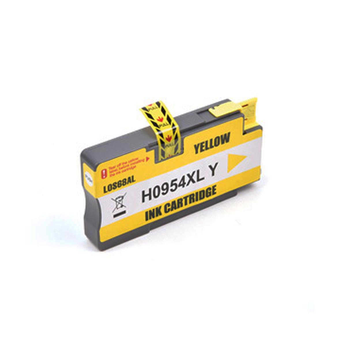 Cartucho de Tinta Compatível com HP 954XL L0S68AL Amarelo | 8710 8720 8210 7720 | Katun Business Ink