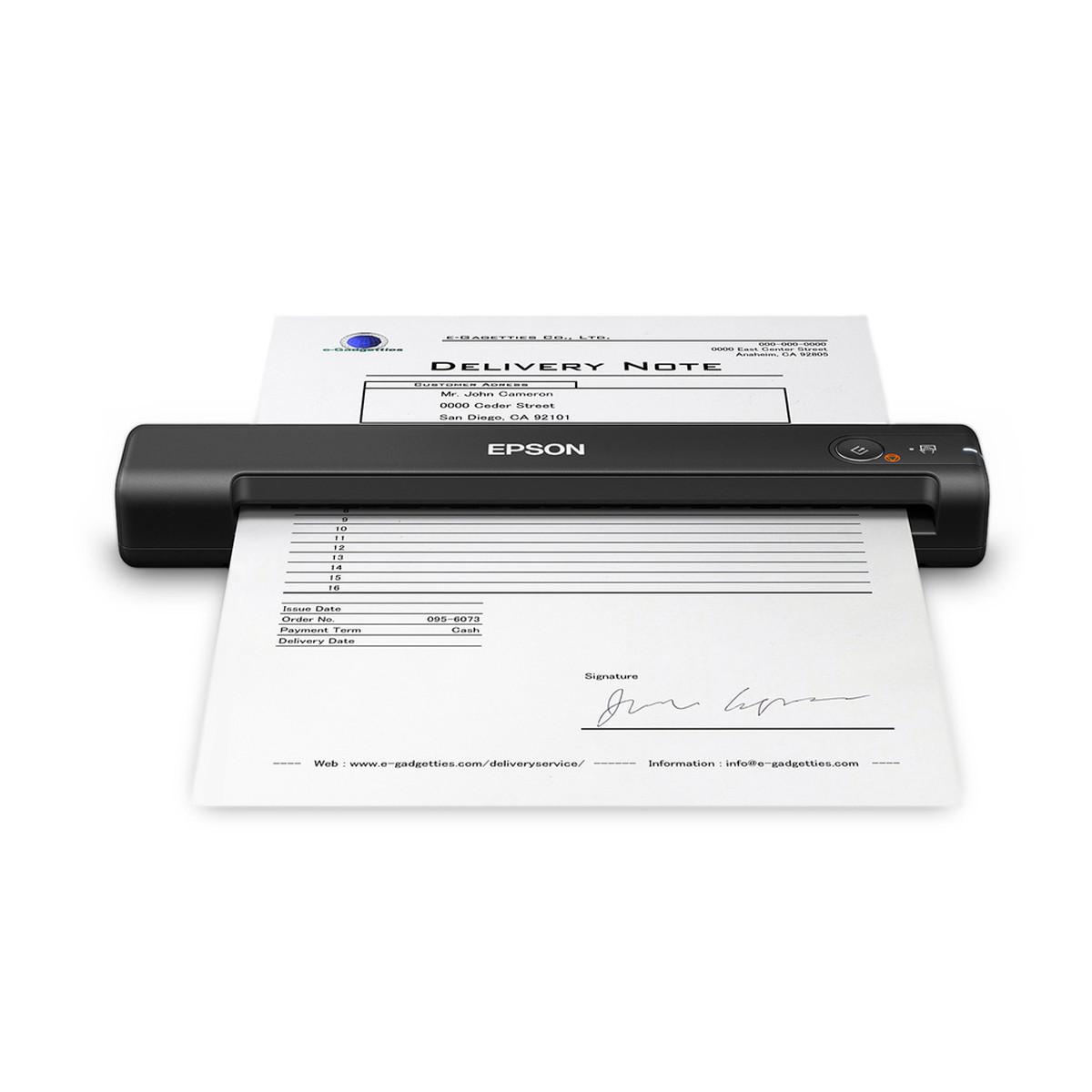 Scanner Epson WorkForce ES-50 Portátil de Documentos   Conexão USB até Tamanho A4