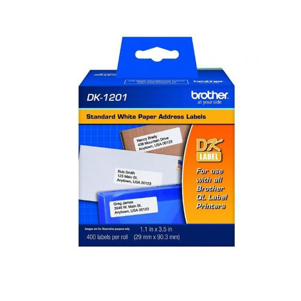 Etiqueta Contínua Brother DK1201 DK-1201   QL-570 QL-580 QL-550 QL-700 QL-720NW   29mm x 90mm
