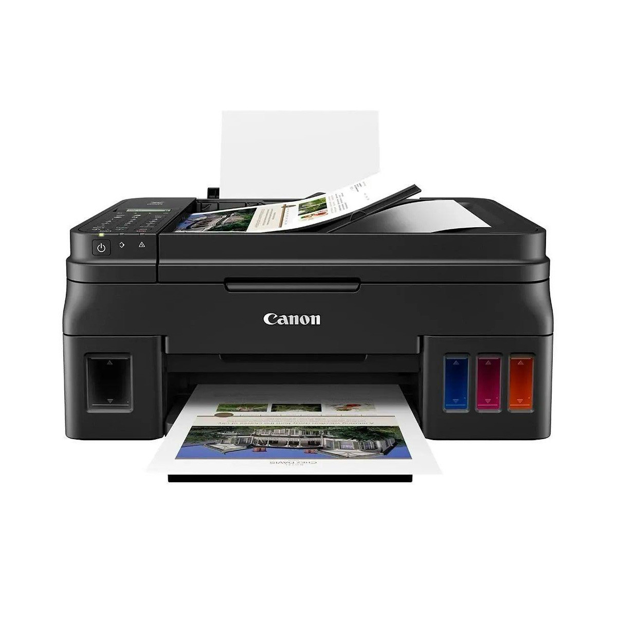 Impressora Canon Maxx Tinta G4111 G4110 | Multifuncional Tanque de Tinta com Wireless e ADF