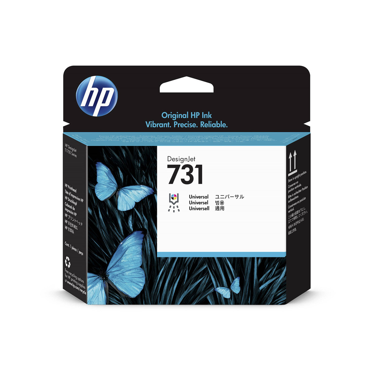 Cabeça de Impressão HP 731 P2V27A Universal | T1700 T1700DR | Original