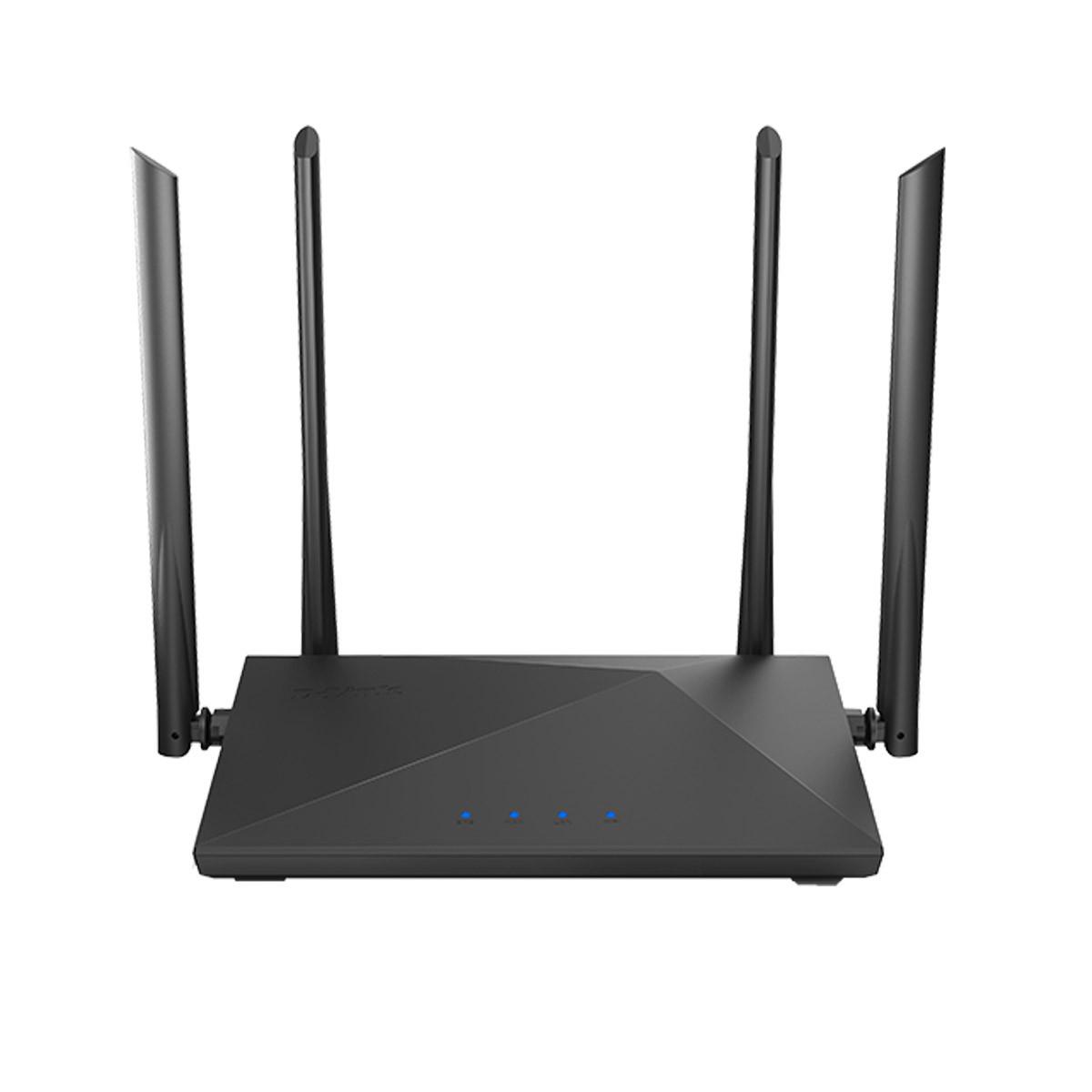 Roteador Wireless com 4 Antenas D-Link DIR-822+ AC1200   1200 Mbps
