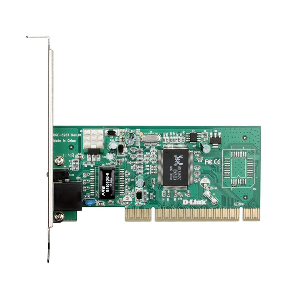 Placa de Rede DGE-528T PCI Gigabit Ethernet D-Link