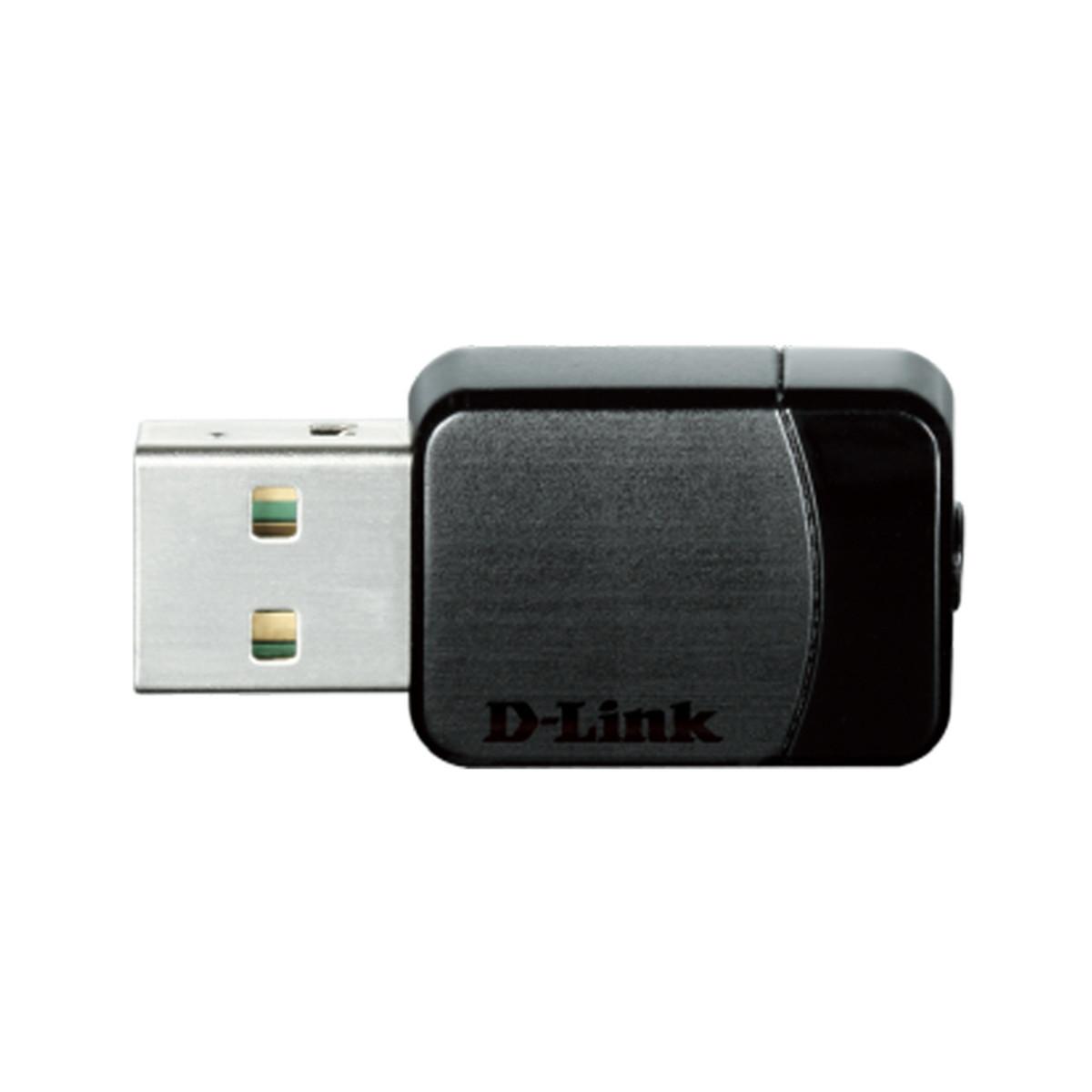 Adaptador de Rede Wireless D-Link DWA-171 Entrada USB Gamer 600Mbps