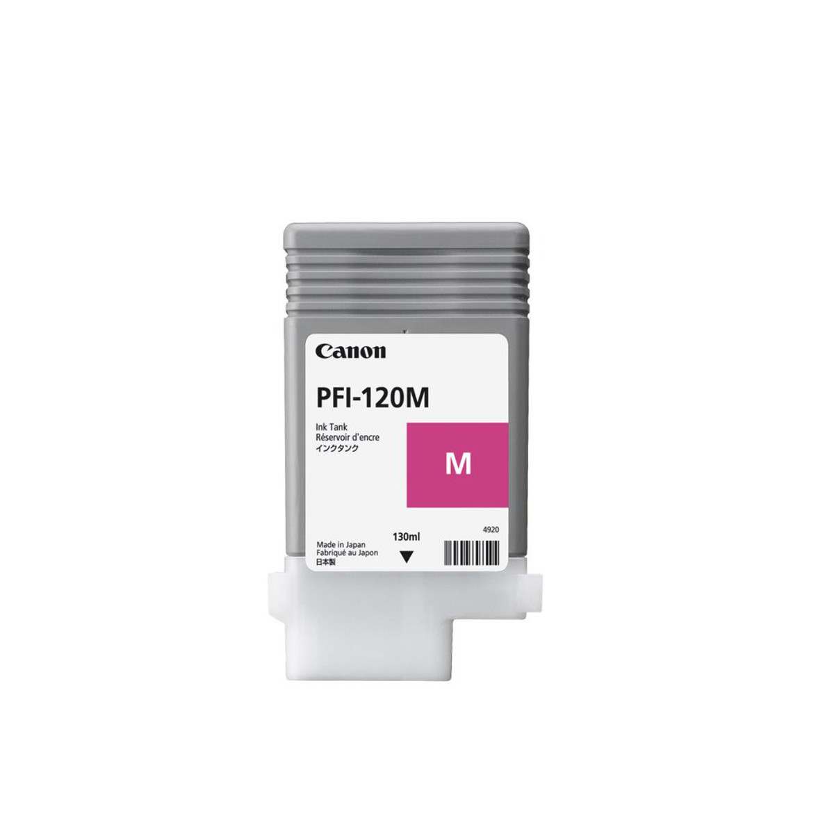 Cartucho de Tinta Canon PFI-120 PFI-120M Magenta | TM200 | Original 130ml