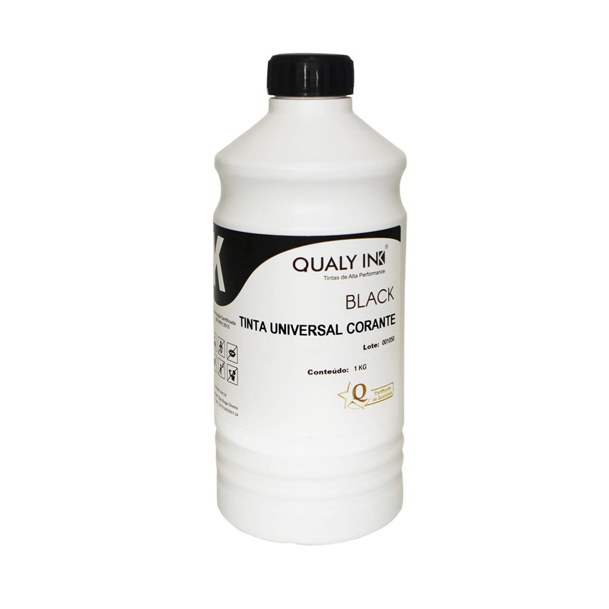 Tinta HP Universal Preto Corante 919400001 | Qualy Ink 1kg