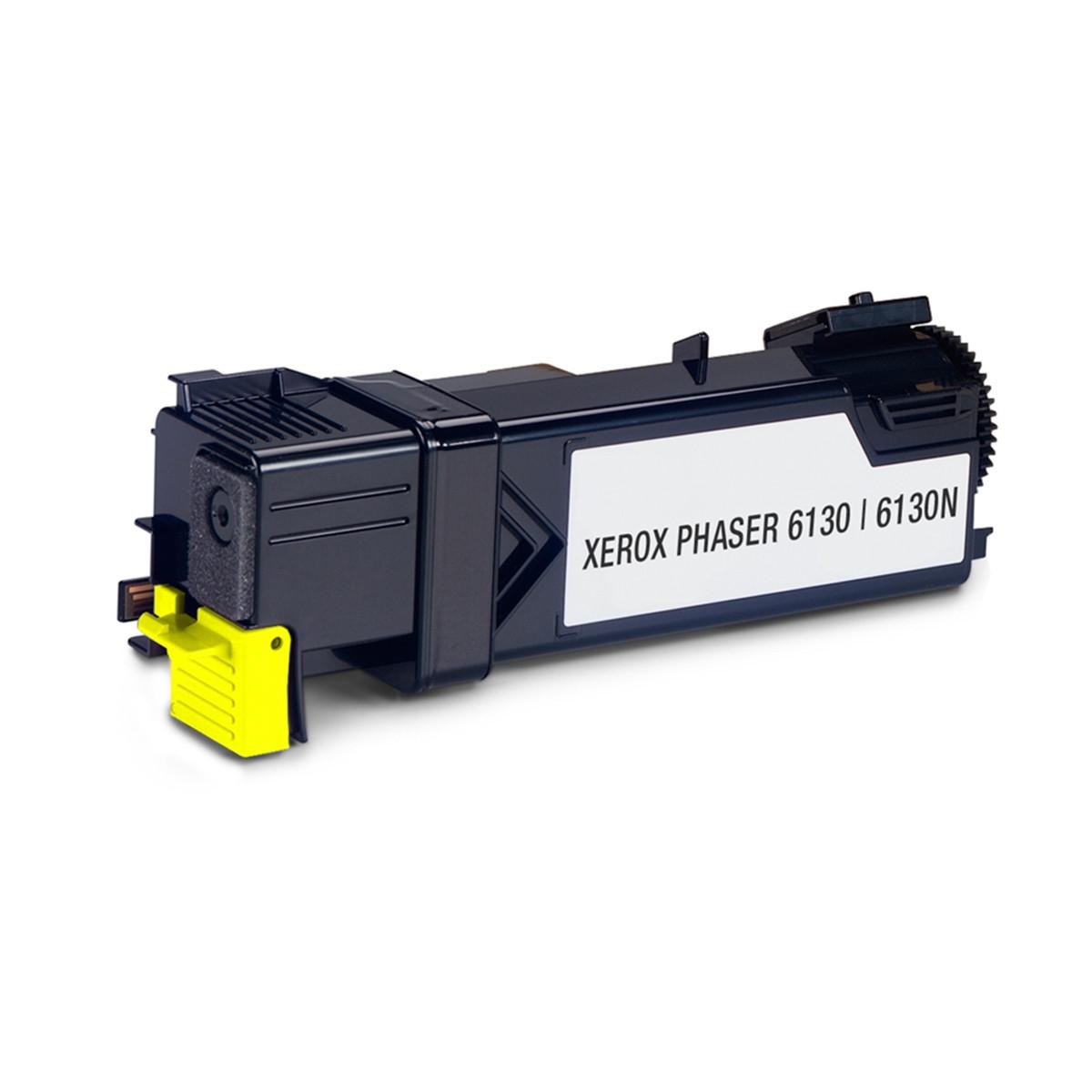 Toner Compatível com Xerox 106R01280 Amarelo | Phaser 6130 6130N | Importado 1.6k