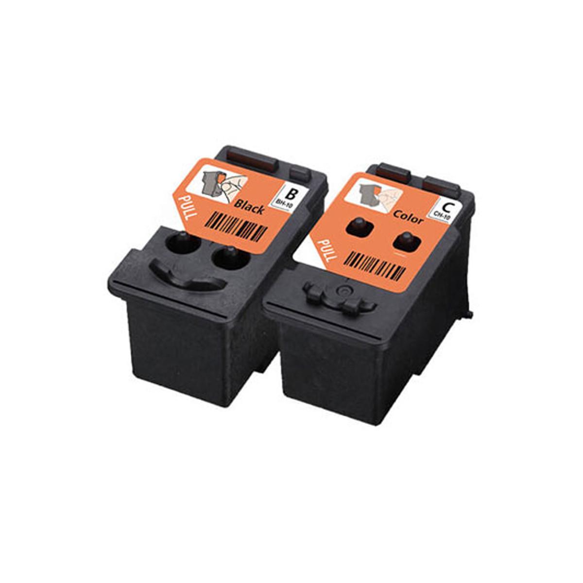 Kit Cabeça de Impressão Canon BH-10 CH-10 Preto e Colorido 3418C004AA   G6010 G7010 G3160   Original