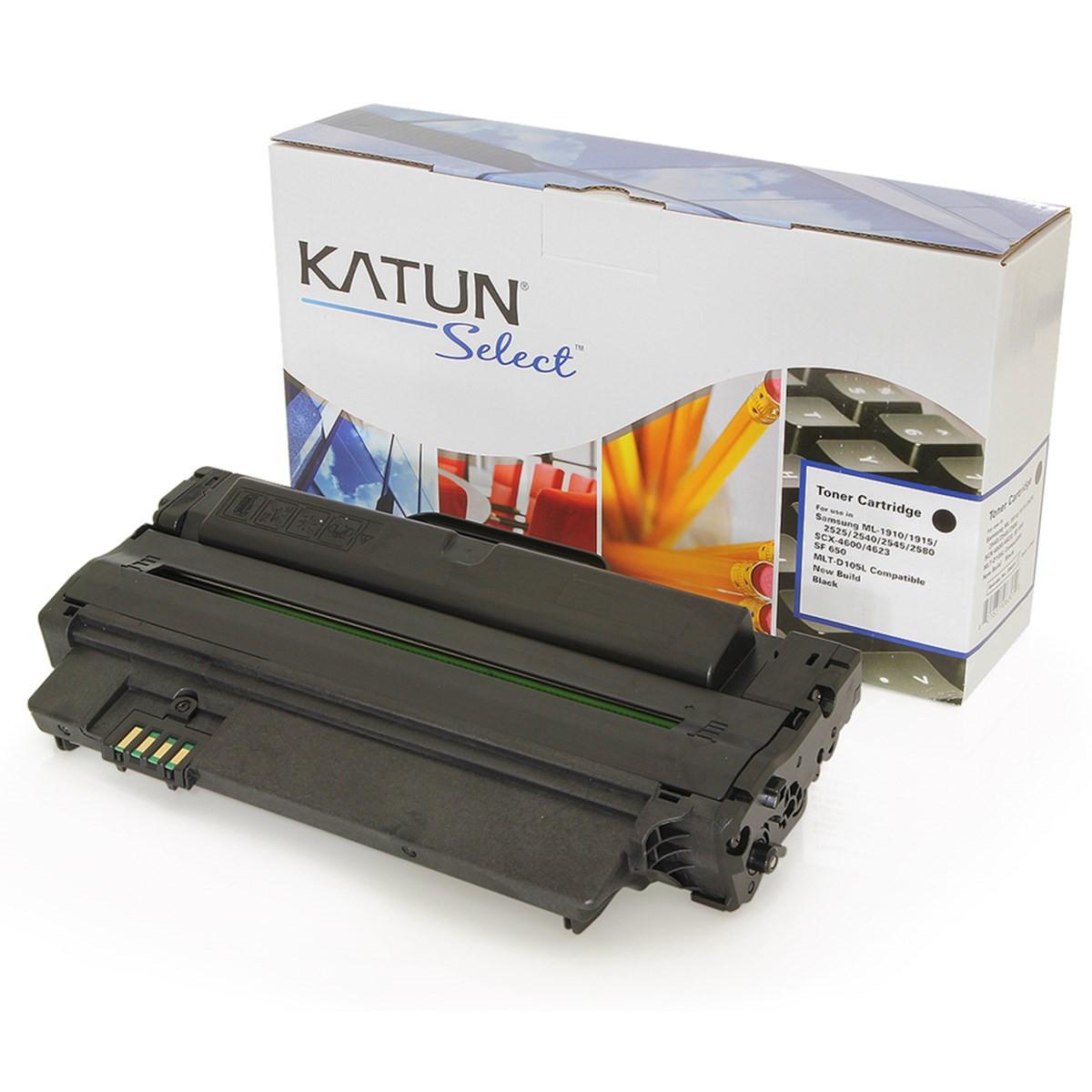 Toner Samsung MLT-D105L | ML2525W SCX4623FW SCX4600 ML1910 ML2525 | Katun Select 2.5k