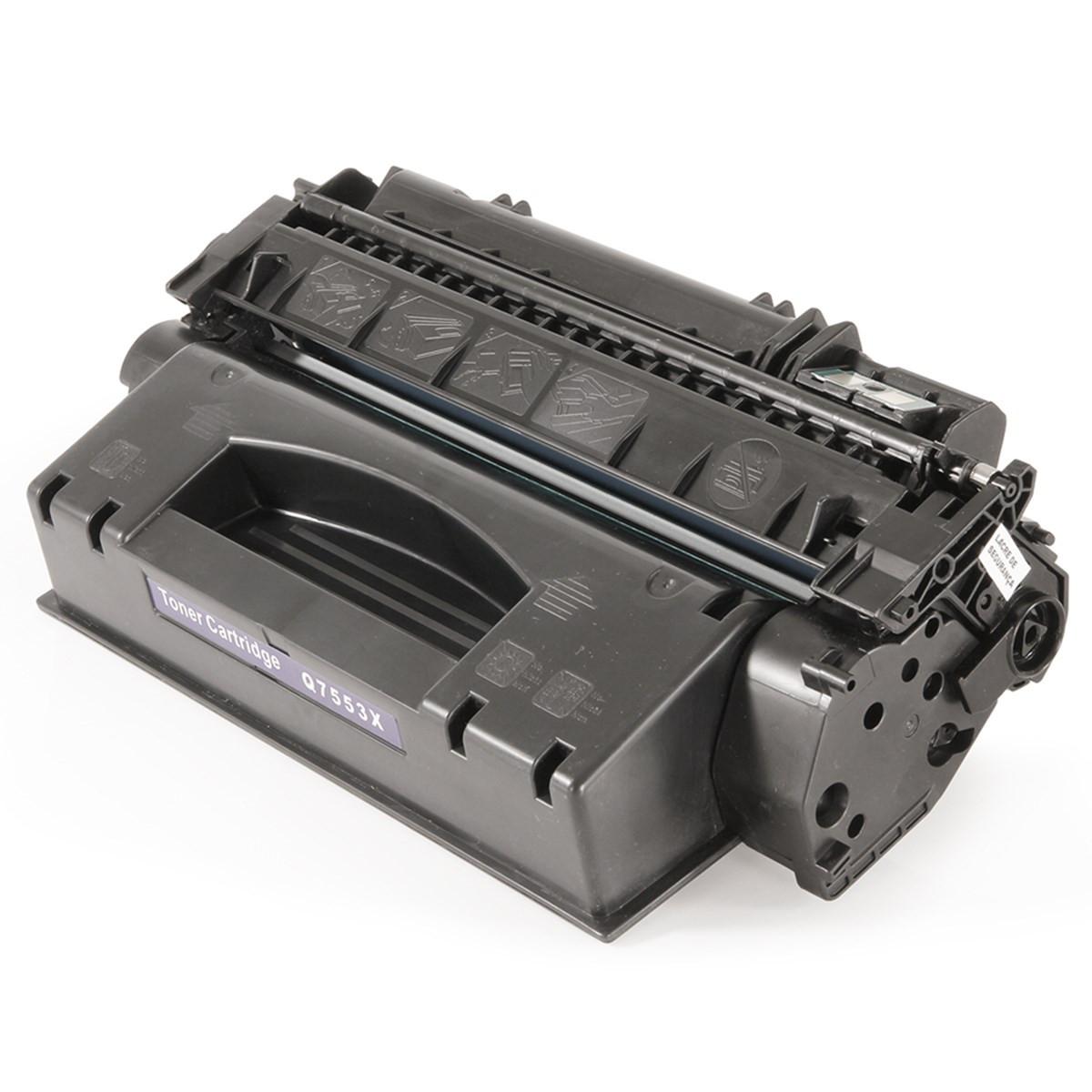 Toner Compatível com HP Q7553X Q7553XB | 2014 2014N 2015 2015N P2014 P2015 M2727 | Premium 5k