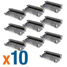Kit 10 Cartuchos de Cilindro Brother DR620 DR 620 para TN650 TN 650 8080 8085 | Compatível Premium