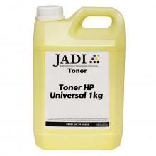 Toner Refil HP CC532A | CP2020 | CP2025 | CP2025N | CM2320 | CM2320NF | CM2320MFP | Amarelo Jadi 1kg