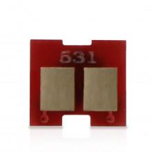 Chip Toner HP CE412A Amarelo Universal | 351A 375NW 451DN 451DW 451NW 475DN 475DW | 2.800 páginas