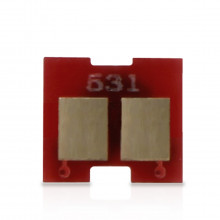 Chip Toner HP CC532A Amarelo Universal | 2320 2025 2320N 2320NF 2320MFP 2025DN | 2.800 páginas