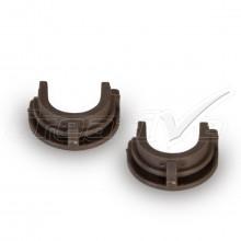 Par de Buchas do Rolo de Pressão HP P1005 P1006 P1008 | LJP1005 | Compatível Importado
