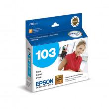 Cartucho de Tinta Epson Ciano T1032 T103 T103220 | T1110 T40W TX515FN TX600FW TX550W | Original 11ml