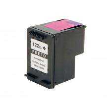 Cartucho de Tinta Compatível com HP 122XL 122 CH563HB Preto 12ml