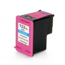 Cartucho de Tinta Compatível com HP 122XL 122 CH564HB Colorido 13ml