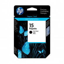Cartucho de Tinta HP 15 | C6615NL C6615DL | Preto | Original HP | 25 ml
