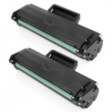 Kit 2 Toner Compatível com Samsung MLT-D104S | ML1665 ML1660 ML1860 SCX3200 SCX3217 SCX3205 | 1.5k