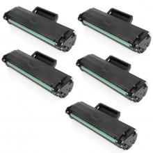 Kit 5 Toner Compatível com Samsung MLT-D104S ML1665 ML1660 ML1860 SCX3200 SCX3217 SCX3205 | 1.5k