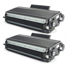 Kit 2 Toner Compatível com Brother TN650 | HL5340D HL5370DW HL5380D MFC8480DN DCP8080 | Premium 7k