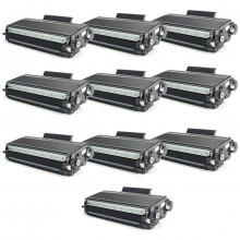 Kit 10 Toner Compatível com Brother TN650 | HL5340D HL5370DW HL5380D MFC8480DN DCP8080 | Premium 7k