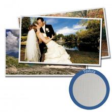Papel Fotográfico Glossy Brilhante Textura Linho | 200g tamanho A4 | Pacote com 20 folhas